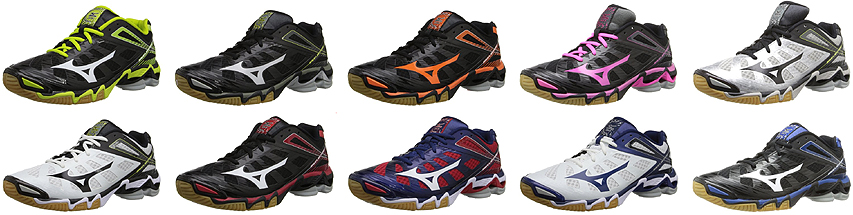 quality design 0d336 8c2e6 Mizuno Wave Lightning RX3