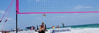 outdoor volleyball net systems